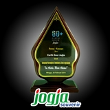 Plakat Kayu - Earth Hour Yogyakarta