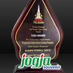 Plakat Kayu Gunungan SMAN 1 Yogyakarta