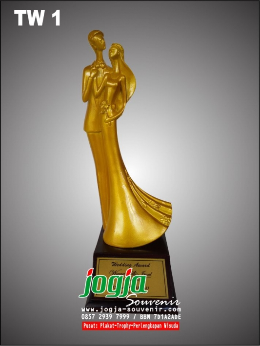 Wedding Award / Trophy Manten
